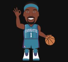 NBAToon of Baron Davis, player of Charlotte Hornets by D4RK0