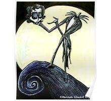 Tim Burton the Pumpkin King Poster