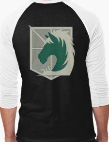 Military Police Crest Men's Baseball ¾ T-Shirt
