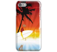 Morning Surf iPhone Case/Skin
