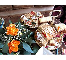 ENGLISH AFTERNOON TEA Photographic Print