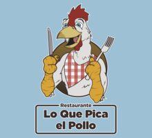 Lo Que Pica el Pollo by cafecitocloth