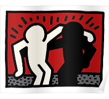 haring - peace Poster