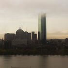 Boston Skyline by BatgirlAtFB