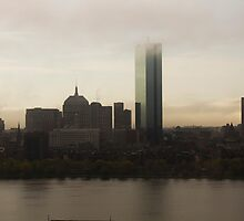 Boston Skyline by BatgirlAtFB