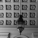 Ornate ceiling. Pasadena City Hall. by philw