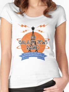 Galaxy News Radio Women's Fitted Scoop T-Shirt