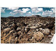 lava lansdcape Poster