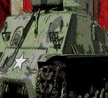 M4 Sherman Sticker