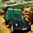 vintage lorry by Atman Victor