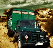 vintage lorry by Atman Victor