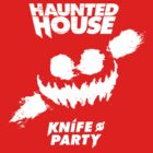 Knife Party - Haunted House (White) by FabFari