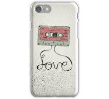 Love Cassette Tape iPhone Case/Skin