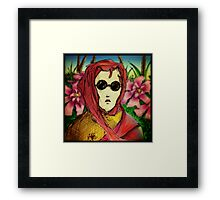 Lady of the Flowers Framed Print
