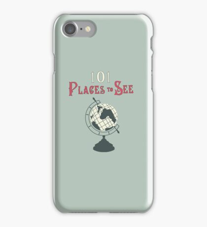 101 Places to See iPhone Case/Skin