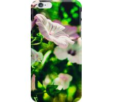 Flower and Green iPhone Case/Skin