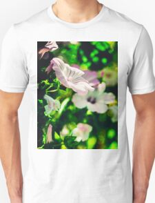 Flower and Green Unisex T-Shirt