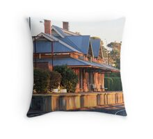 Victor Harbor Station Throw Pillow