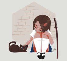 Samurai School Girl by pweetysexxay
