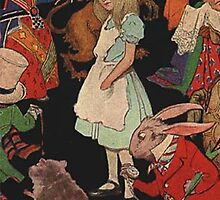 Alice in Wonderland 3 iPhone Case by squidkid