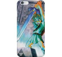 Ocarina of Time - Link Master Sword iPhone Case iPhone Case/Skin