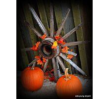 Fall scenery  Photographic Print