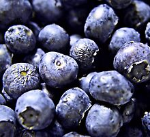 Burst of Blueberries by Scott Mitchell