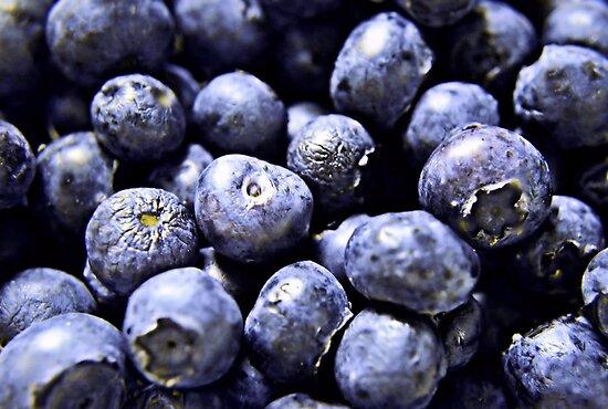 Burst of Blueberries by Scott Mitchell