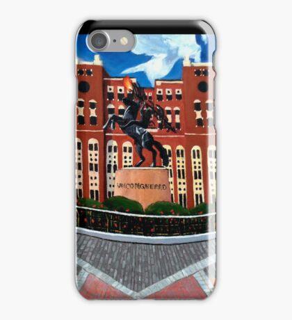 "108. ""Unconquered. (Doak Campbell Stadium, Florida State University)."" iPhone Case/Skin"