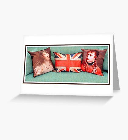 Cojines con Historia.... Greeting Card