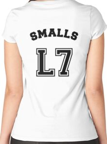 Smalls Jersey Women's Fitted Scoop T-Shirt
