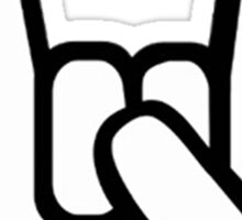 Rock Hand Symbol Sticker