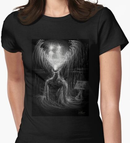 Light Guides in the Studio Womens Fitted T-Shirt