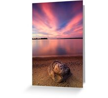 The Pink End, Leech Lake Greeting Card