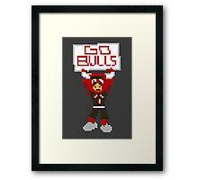 Benny the Bull Framed Print