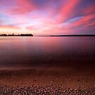 Serenity, Leech Lake by Michael Treloar