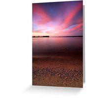 Serenity, Leech Lake Greeting Card