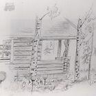 The Log Cabin by gunnelau