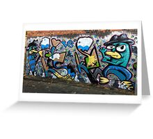 Melbourne Street Art #003 - Fitzroy Greeting Card