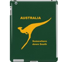 Somewhere Down South - Large Logo iPad Case/Skin