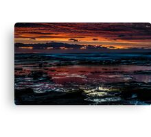 Sunrise to behold Canvas Print
