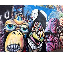 Melbourne Street Art #022 - Fitzroy Faces Photographic Print