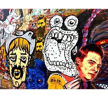 Melbourne Street Art #019 - More Faces Photographic Print
