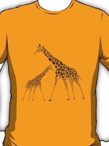 Animal Giraffe Picture T-Shirt
