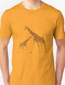 Animal Giraffe Picture Unisex T-Shirt