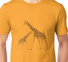 Animal Giraffe Picture Unisex T-Shirt