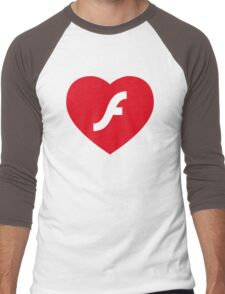 Flash Love Men's Baseball ¾ T-Shirt