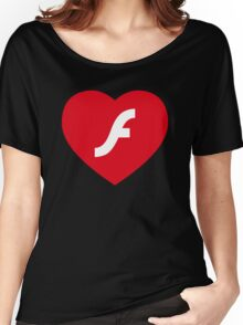 Flash Love Women's Relaxed Fit T-Shirt