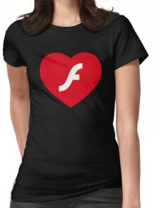 Flash Love Womens Fitted T-Shirt
