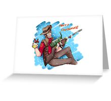 Christmas Sniper Greeting Card